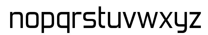 ForgottenFuturistRg-Regular Font LOWERCASE