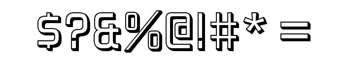ForgottenFuturistShadow-Regular Font OTHER CHARS
