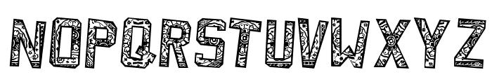 ForgottenPlaybill Font LOWERCASE