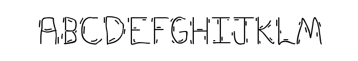 Forky Font UPPERCASE