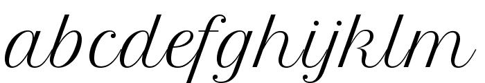 FormalScriptBeta Font LOWERCASE