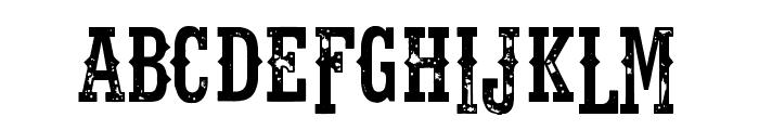 Fort Death Font UPPERCASE