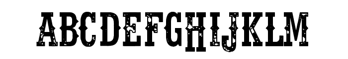 Fort Death Font LOWERCASE