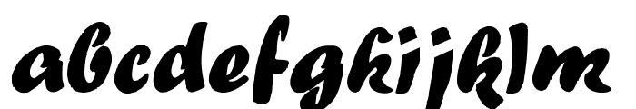 Forte Font LOWERCASE