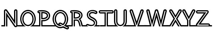 Fortrack-Regular Font UPPERCASE