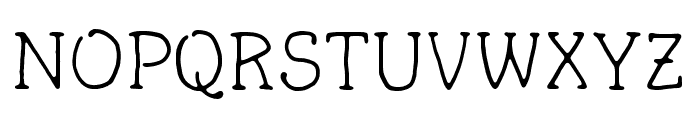 FortuitousMouse Font UPPERCASE