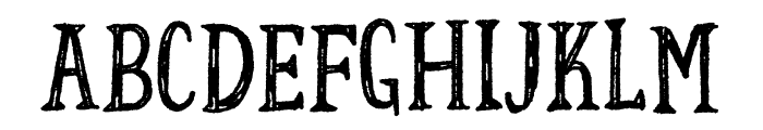 Fortunate DEMO Regular Font UPPERCASE