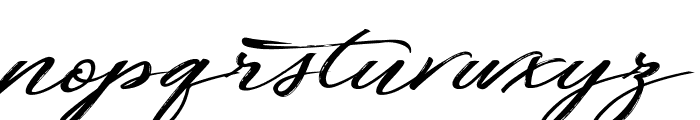 Fortunates December Font LOWERCASE