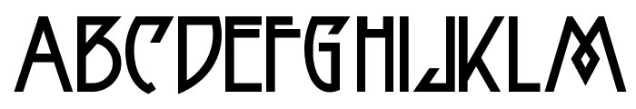 Fortune Cookie NF Font UPPERCASE