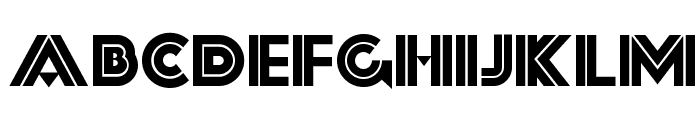 Forty-Second Street NF Font UPPERCASE
