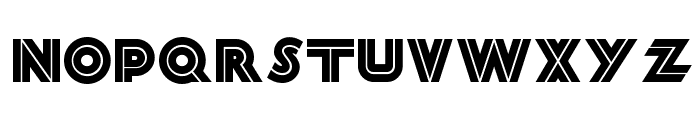 Forty-Second Street NF Font LOWERCASE