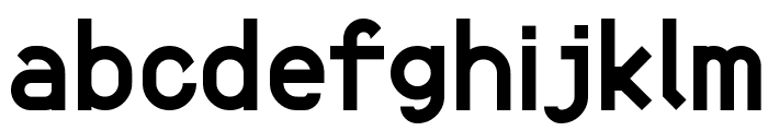 Fortyfive: Praise to simple geometry Font LOWERCASE