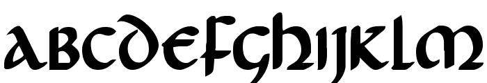 Foucault Bold Font LOWERCASE