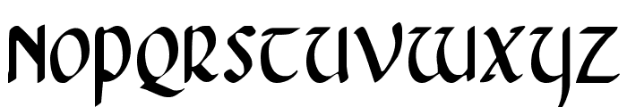 Foucault Condensed Font UPPERCASE