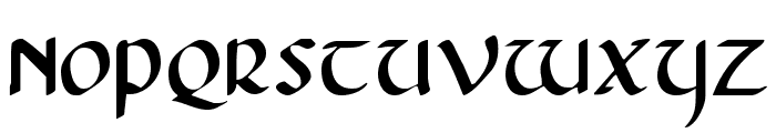 Foucault Expanded Font UPPERCASE