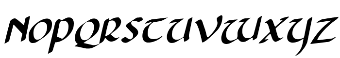 Foucault Rotalic Font UPPERCASE