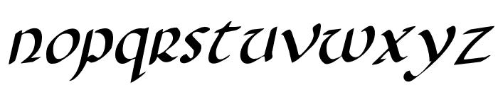 Foucault Rotalic Font LOWERCASE