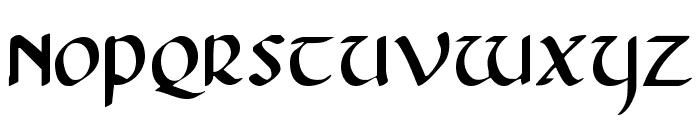 Foucault Font UPPERCASE