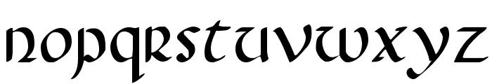 Foucault Font LOWERCASE