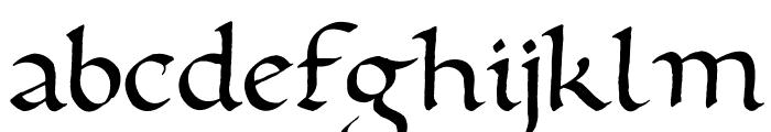 Foundational Font LOWERCASE