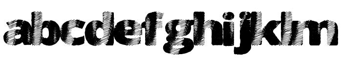 FourSix Font LOWERCASE