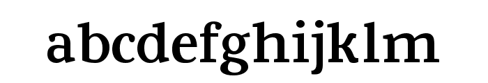 Fowviel Font LOWERCASE