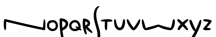 Fox Typeface Fox Tail Font LOWERCASE