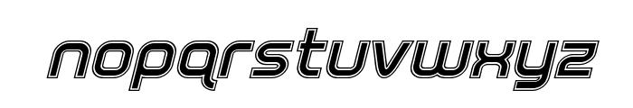 Fox on the Run Academy Italic Font LOWERCASE