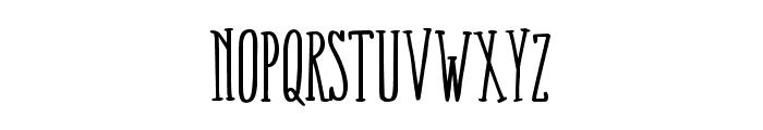 FoxConnection-Regular Font LOWERCASE