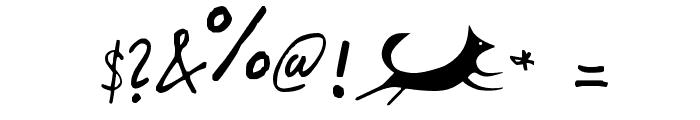 Foxjump Font OTHER CHARS