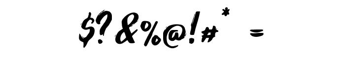 Foxlite Script Font OTHER CHARS