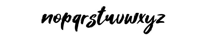 Foxlite Script Font LOWERCASE
