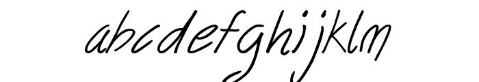 follow your dreams Font LOWERCASE