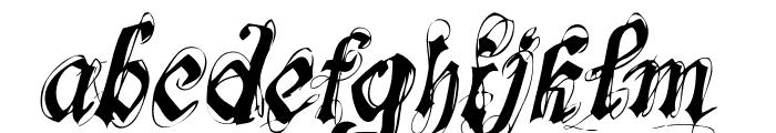 font-lab's Symphony Font LOWERCASE