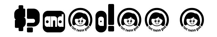 font twelve good fatty Font OTHER CHARS