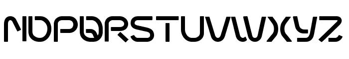 fontopoSUBWAY Regular Font UPPERCASE