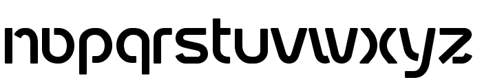 fontopoSUBWAY Regular Font LOWERCASE