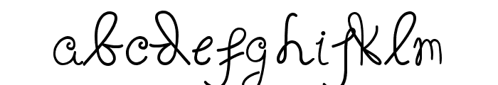 fositif Font LOWERCASE