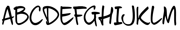 fourHand_TRIAL Font UPPERCASE