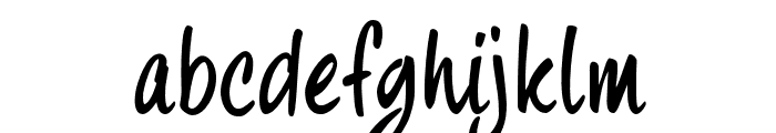 fourHand_TRIAL Font LOWERCASE