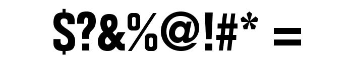 FolioStd-BoldCondensed Font OTHER CHARS