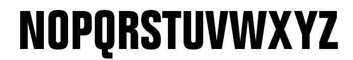 FolioStd-BoldCondensed Font UPPERCASE