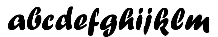 ForteMTStd Font LOWERCASE