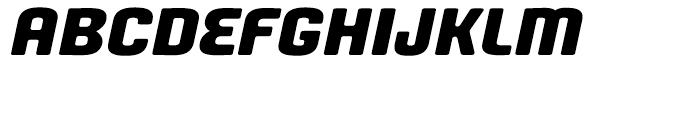 Fono Expanded Unicase Oblique Font UPPERCASE