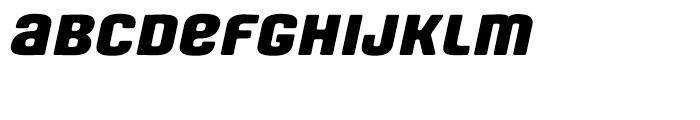 Fono Expanded Unicase Oblique Font LOWERCASE
