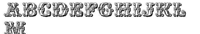 Fontaniolo Shadow Font UPPERCASE