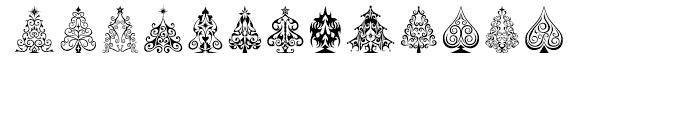 Fontazia Christmas Tree 2 Font LOWERCASE