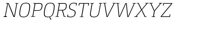 Foral Pro Light Italic Font UPPERCASE