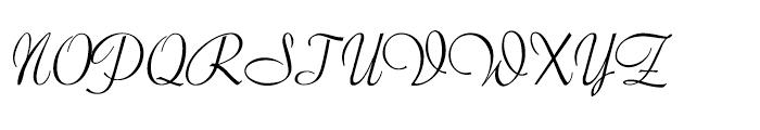Forelle Pro Light Font UPPERCASE