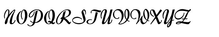 Forelle Pro Medium Font UPPERCASE